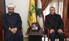 القطان زار وفيق صفا وبحث معه في آخر المستجدات السياسية