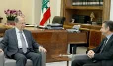 الرئيس عون بحث مع عبد الله فرحات الاوضاع العامة في البلاد