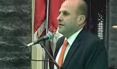 سليم عون: قضيتنا اليوم دعم مسيرة عهد الرئيس السيادي والإستقلالي