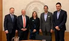 حنكش يلتقي مسؤولين بالأمم المتحدة وكتائبيين خلال جولته بالولايات المتحدة