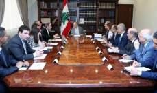 الرئيس عون بحث مع لجنة الشؤون الخارجية بالكونغرس الاميركي سبل تعزيز العلاقات بين البلدين