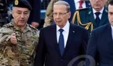 وصول الرئيس عون إلى وزارة الدفاع للمشاركة بحفل وضع النصب التذكاري