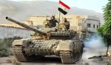 سانا: الجيش السوري أحبط محاولة تسلل مجموعة إرهابية في تل هواش بريف حماة