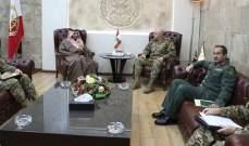 قائد الجيش التقى سفيري السعودية وألمانيا ومدير الإستخبارات الأسترالية