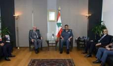 اللواء عثمان التقى وفداً من رابطة قدامى القوات المسلحة