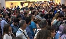 جابر نشر تسجيلا مصورا لفوضى المطار وفنيانوس يرد عليه