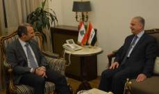 باسيل التقى وكيل الأمين العام للأمم المتحدة محمد علي الحكيم