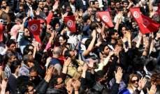 إضراب عام في القطاع الحكومي في تونس وشلل في المدارس وحركة النقل