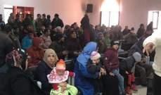 توزيع قسائم شرائية للمحروقات على النازحين السوريين بمنطقة مرجعيون
