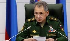 شويغو: لا عملية عسكرية في إدلب وسيتم تنسيق التفاصيل مع دمشق خلال ساعات
