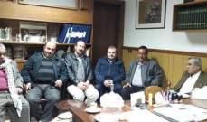 عبد الرحمن البزري أكد أهمية تجنيب المخيمات الفلسطينية الأحداث الأمنية