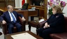 """الرئيس عون استقبل زوين وقائد قوات """"اليونيفيل"""" على رأس وفد"""