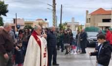 أبو كسم بقداس عيد القيامة: نسأل الله أن يمن على وطننا بالقيامة الحقيقية