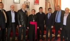 تجمع موارنة من أجل لبنان احتفل بعيد مار يوحنا مارون في كفرحي