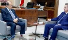 سلامة:الليرة اللبنانية مستقرة ونبحث بسبل معالجة ارتفاع أسعار الفوائد العالمية