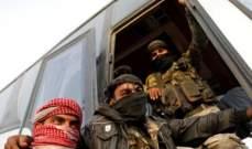 بدء خروج جيش الاسلام وعائلاتهم من الضمير بريف دمشق الى جرابلس