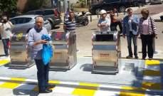 عيتاني أطلق العمل بحاويات النفايات الجديدة تحت الأرض في بيروت