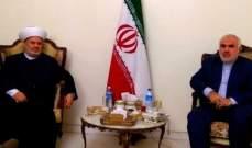 الجعيد التقى فتحعلي: إيران تعمل بصدق وإخلاص من أجل تحرير فلسطين