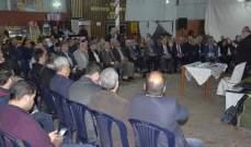 محاضرة لجمعية منارات للثقافة والعلوم عن الإنتخابات النيابية القادمة في برجا