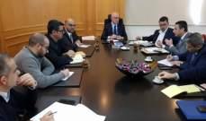 فنيانوس: الوزارة في صدد إعادة إحياء قطاع النقل العام والسككي