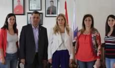 القاضي أماني سلامة زارت جمعيّة نسروتو في زحلة