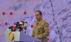 المتحدث العسكري المصري: مقتل 8 مسلحين بشمال سيناء
