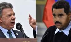 رئيس كولومبيا اتهم مادورو بنقل كولومبيين إلى فنزويلا للتصويت له بالإنتخابات