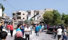 ارتفاع عدد المصابين بحادث اجتياج شاحنة للسيارات في بشامون خلدة الى 11