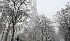 """الثلوج تُغلق برج """"إيفل"""" أمام الزوار"""