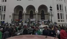 إيقاف حركة وسائل النقل العمومية بالعاصمة الجزائرية وتشديد إجراءات التفتيش