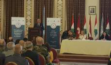 المشنوق: التنسيق بين الأجهزة الأمنية أدى لعمليات أمنية وتوقيف إرهابيين