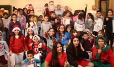 """مؤسسة """"فارس فتّوحي الإجتماعية"""" أحيت عيد الميلاد من خلال سلسلة احتفالات"""