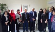 فنيش التقى وفدين من اتحادي الدراجات الهوائية والمرشدات والدليلات