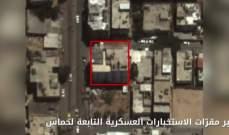 الجيش الإسرائيلي نشر مشاهد من عملياته التي استهدفت مواقع تابعة حماس