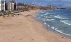 الحملة الوطنية لتنظيف الشاطئ انطلقت من الرملة البيضاء على طول الساحل