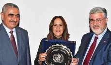 خوري تسلم جائزة منظمة الصحة لليوم العالمي للامتناع عن تعاطي التبغ 2018