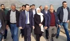 بهية الحريري تفقدت سد وبحيرة القرعون: سنعمل على إعادة ثقة الشباب بالمسؤولين