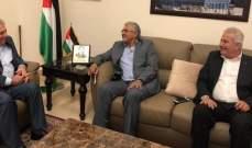 """أيوب واليوسف التقيا دبور: نقف خلف عباس وندعم موقفه الرافض لـ""""صفقة القرن"""""""