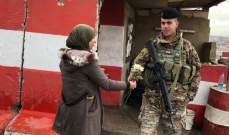 النشرة: مجموعة من جمعية أنصار الوطن وزعت الورود على عناصر الجيش