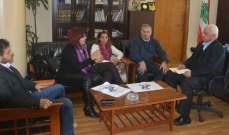 رئيس بلدية طرابلس عرض مشروع المباني التاريخية مع وفد الامم المتحدة