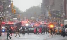 وسائل إعلام أميركية: ارتطام مروحية بأحد مباني مانهاتن في مدينة نيويورك