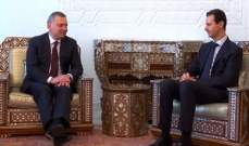 مسؤول روسي بعد لقاء الأسد: روسيا قد تستأجر ميناء طرطوس لمدة 49 عاما