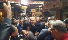 ميقاتي جال بأسوق طرابلس: على البلدية ان تكون حاضرة فيها على مدار الساعة