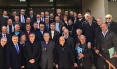 انتخاب القس جوزيف قصاب رئيسا للمجمع الأعلى للطائفة الإنجيلية في لبنان وسوريا