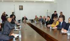 نهرا ترأس اجتماع المجلس الفرعي: الأمن مستتب عشية انتخابات في طرابلس