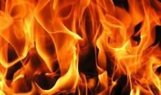 الدفاع المدني: إخماد حريقي أعشاب يابسة في عينبال ومحمية صور