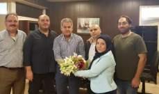 وفد من التنظيم الناصري التقى رئيس المنطقة التربوية بالجنوب:للعمل على تعزيز نوعية التعليم بالمدارس