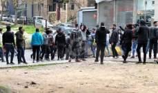 النشرة: متظاهرون يعتدون على الأملاك العامة في وسط بيروت