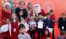 اللبنانية الاولى تقيم احتفالا ميلاديا في القصر الجمهوري