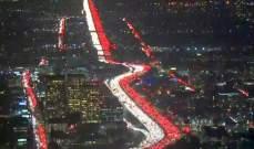 لكل من انتقد الجيش بسبب أزمة السير .. طرقات لوس أنجلوس مقفلة بسبب أحد الإحتفالات